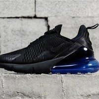 Air Max 270 Black/Blue AH8050-009 Running Shoe