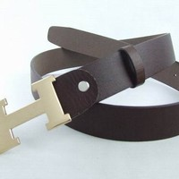 Cheap HERMES Genuine Leather belts woman's and men's Business Waistband Belt Luxury Casual fashion Belt sale-843368361