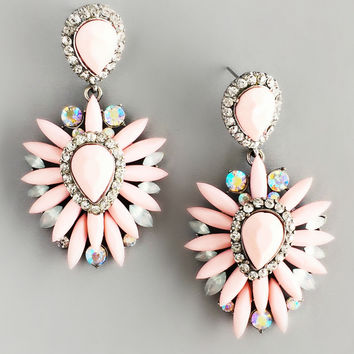 Soft Blushing Cupcakes Earrings