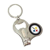 NFL Pittsburgh Steelers 3-in-1 Nailclipper Keychain