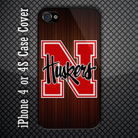 Notifier Fire Systems Fire Alarm Custom iPhone 4 or 4S Case Cover