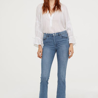 Mini Flare High Jeans - Denim blue - Ladies | H&M US
