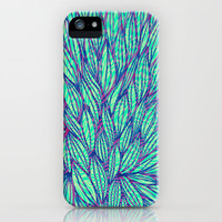 Natural leaves iPhone & iPod Case by Claudia Owen