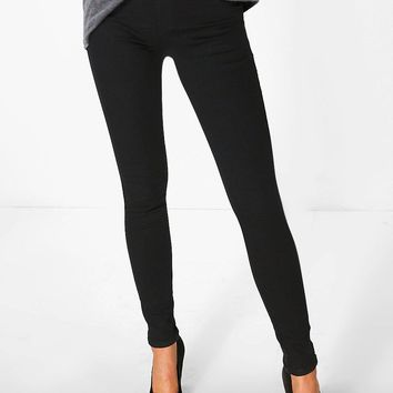 Sara Pull-Up Denim Jeggings