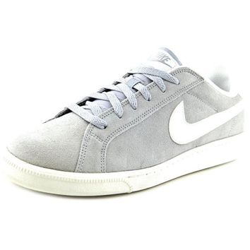 Nike Court Majestic Suede Men Round Toe Suede Gray Sneakers - Walmart.com