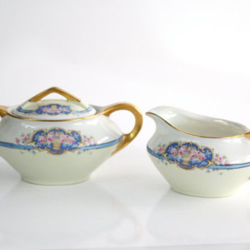 EPIAG Sugar and Creamer Set / Victoria Schmidt  / 1950s