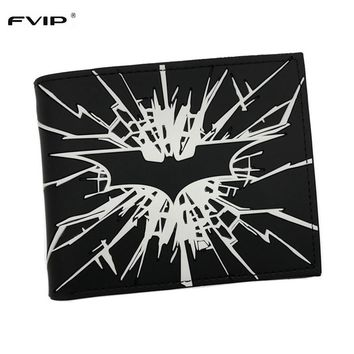FVIP New Arrival DC Comics Wallet The Dark Knight Batman /The Joker Why So Serious and Harley Quinn Short Wallet Dollar Price