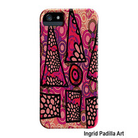 Colorful, whimsical iPhone 5 Case, Funky, Abstract Art, iPhone cases, by Ingrid Padilla, iPhone 5S case