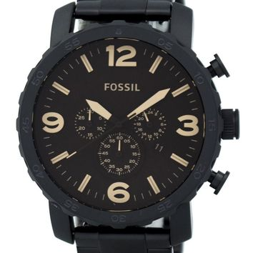 Fossil Nate Chronograph Brown Dial JR1356 Men's Watch