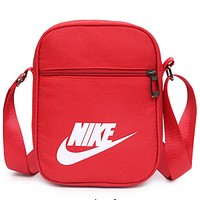 NIKE 2018 new outdoor sports bag travel bag key bag shoulder Messenger bag F-A30-XBSJ red