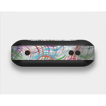 The Abstract Woven Color Pattern Skin Set for the Beats Pill Plus