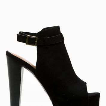 Black Faux Suede Peep Toe Chunky Platform Heels @ Cicihot Heel Shoes online store sales:Stiletto Heel Shoes,High Heel Pumps,Womens High Heel Shoes,Prom Shoes,Summer Shoes,Spring Shoes,Spool Heel,Womens Dress Shoes