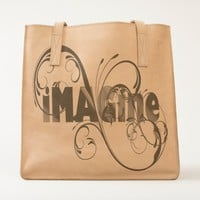 Imagine Leather Tote Bag