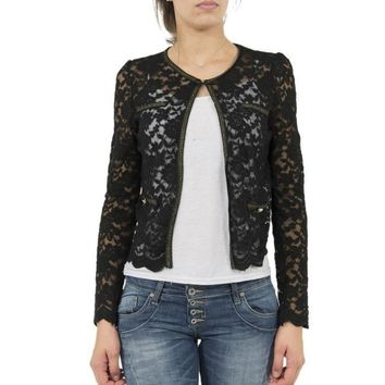 Molly Bracken Lace Knit Cardigan