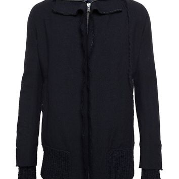 Cedric Jacquemyn Boiled Wool Raw Edge Jacket