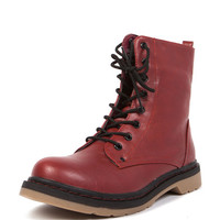 Rubber Combat Boots | 2020AVE