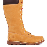 Timberland Asphalt Trail Classic Tall Boots in Wheat Nubuck