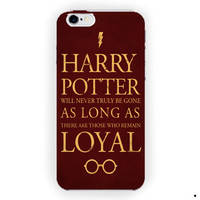 Harry Potter Quote Tv Series Cover For iPhone 6 / 6 Plus Case