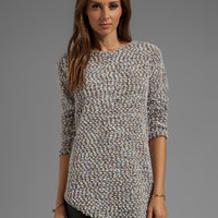 Backstage Nikki Sweater in Light Gray