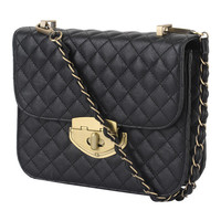 Quilted Chain Strap Crossbody