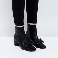 ASOS RAYOLA Bow Ankle Boots at asos.com