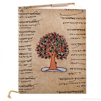 Tree of Life Linen Eco Journal on Sale for $12.99 at The Hippie Shop