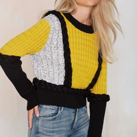 Knitz by For Love and Lemons Billy Sweater