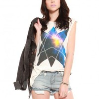 Geometric Galaxy Muscle Tank - Clothes | GYPSY WARRIOR