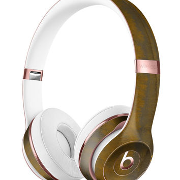 Dark Gold Reflection with Gold Specks Full-Body Skin Kit for the Beats by Dre Solo 3 Wireless Headphones
