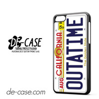 Outatime Back To The Future California License Plate For Iphone 5C Case Phone Case Gift Present YO