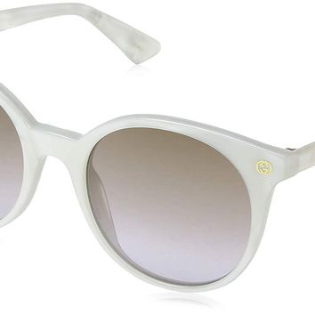 Gucci GG0091S Round Sunglasses 52 mm