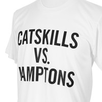 "GRAHAM AND CO T-Shirt ""Catskills VS Hamptons"""