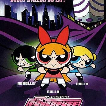 The Powerpuff Girls (French) 11x17 Movie Poster (2002)