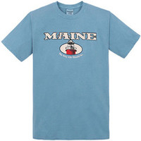 Cape Cod Textile Men's Maine Lighthouse Short-Sleeve T-Shirt