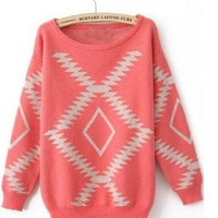 Aztec Pullover Sweater from Seek Vintage