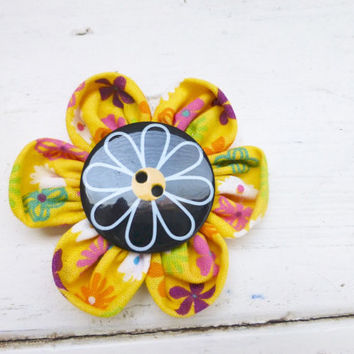 Fabric flower, flower embelishment, flower diy, flower for sale, flower for crafts, flower for pins, flowers for hair clips, cute flower