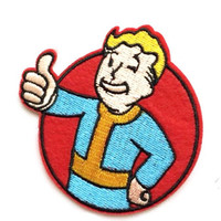 Fallout Shelter patch App Icon patch Embroidered patch Iron on patch Sew on patch Fallout Shelter Applique