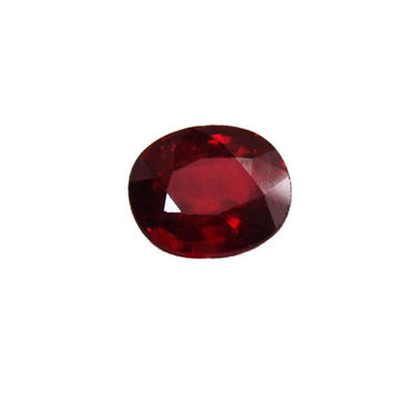 Ruby, Loose Gemstone, Loose Ruby, Oval stone, Certified by IGI, deep Top Quality Red Ruby, July Birthstone