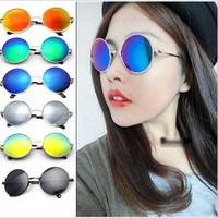 Round Lens Polarized Sunglasses