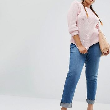 River Island Plus Knitted Sweater at asos.com