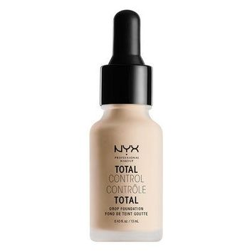 NYX Total Control Drop Foundation - Alabaster - #TCDF02