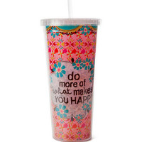 Makes You Happy Travel Cup