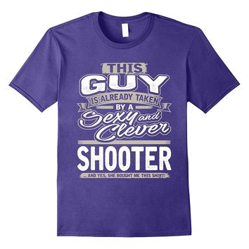 Shooter Shirt Gift For Boyfriend Husband Fiance Lover 1