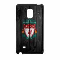 Liverpool FC Wood Style Samsung Galaxy Note Edge Case