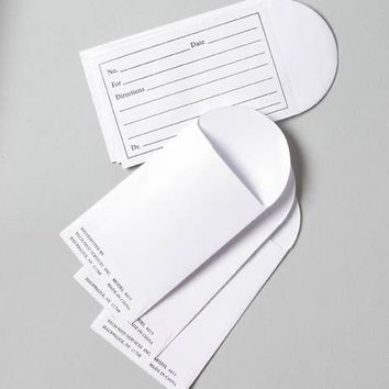 Printed Pill Envelope 1000 ct - CASE OF 1