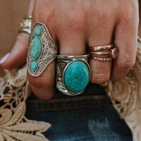 Mojave Turquoise Statement Ring