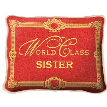 Pure Country Weavers World Class Sister Decorative Pillow