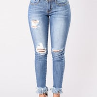 Shy Girl Jeans - Medium