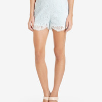 Lace shorts - Light Blue | Trousers & Shorts | Ted Baker UK