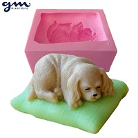 3D Dog Soap Mold Silicone Soap Mould Silicone Mold for Soap Chocolate Mold
